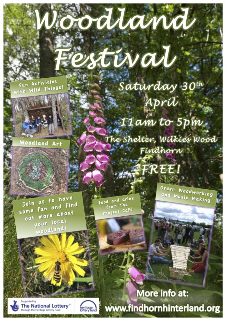 Poster Woodland Festival